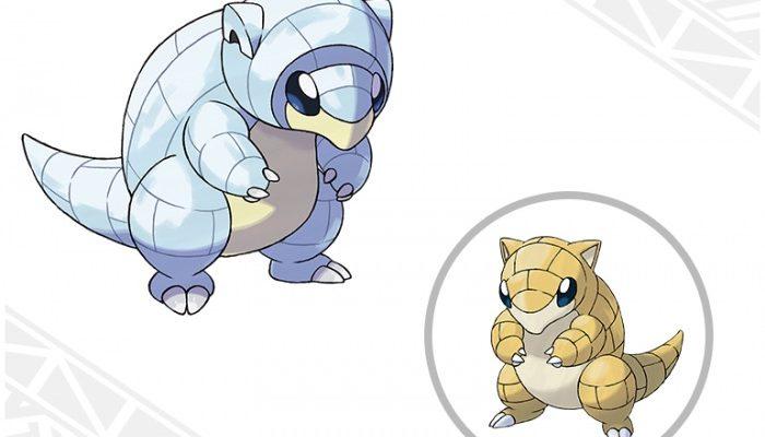 Pokémon Sun & Moon – Alolan Sandshrew