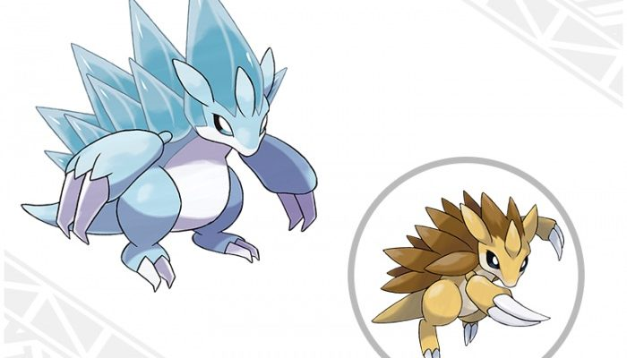 Pokémon Sun & Moon – Alolan Sandslash