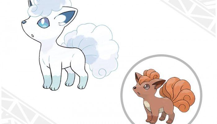 Pokémon Sun & Moon – Alolan Vulpix