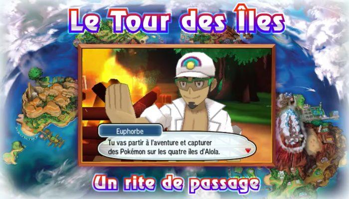 Pokémon Soleil & Lune – Bande-annonce Introduction des Formes d'Alola et des capacités Z !