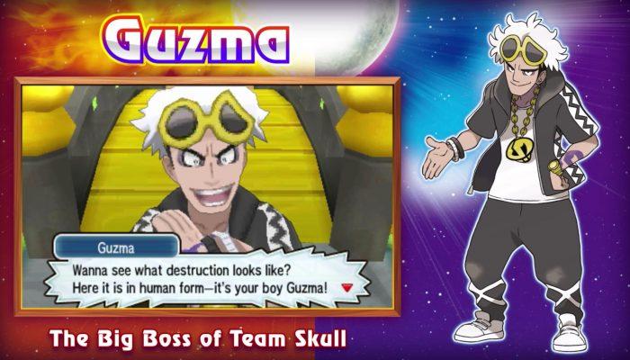 Pokémon Sun & Moon – Discover More Pokémon and Meet Team Skull! Trailer