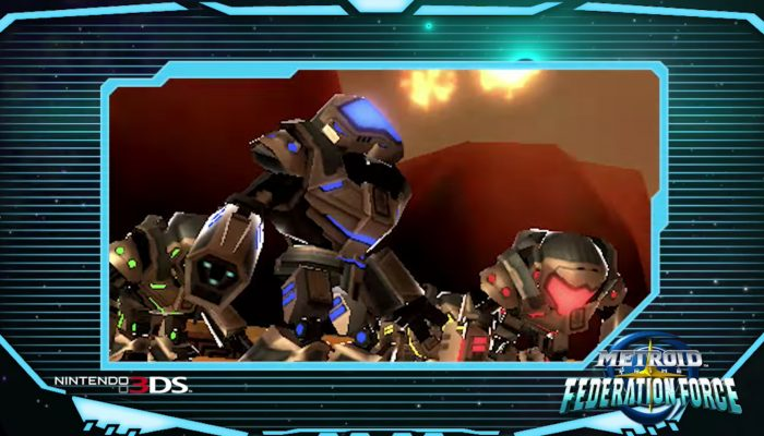 Metroid Prime: Federation Force – Story Commercial