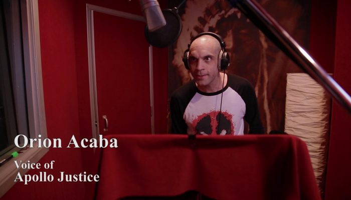 Phoenix Wright: Ace Attorney Spirit of Justice – The Voices of Ace Attorney: Orion Acaba as Apollo Justice