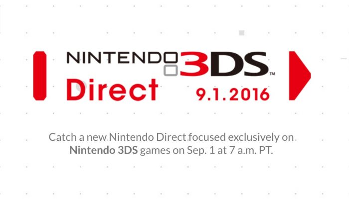 Nintendo Direct announced for North America this September 1