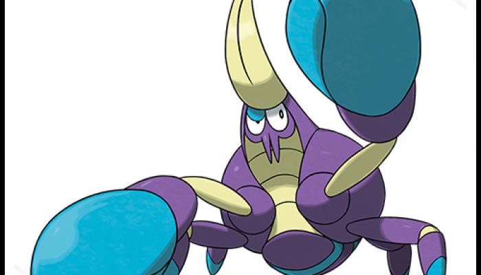 Pokémon Sun & Moon – Crabrawler