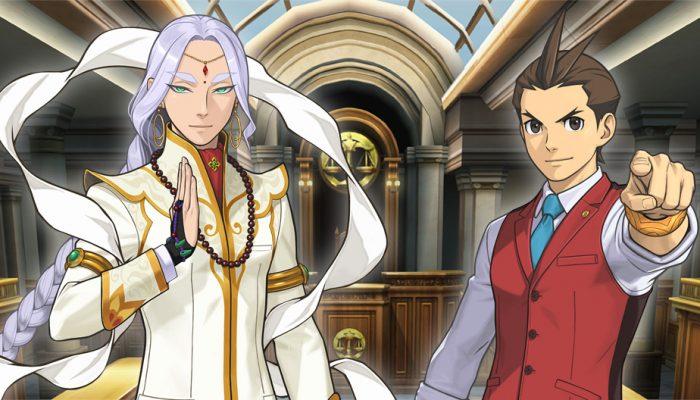 Capcom: 'Ace Attorney Character Profiles: Apollo Justice and Nahyuta Sahdmadhi'