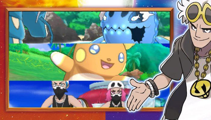 Nintendo France : 'Découvrez Froussardine, Concombaffe, Spododo et encore plus de Pokémon sous leur forme d'Alola dans Pokémon Soleil et Pokémon Lune !'