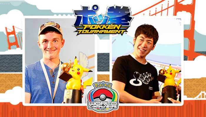 Pokémon: '2016 Pokkén Tournament World Champions'