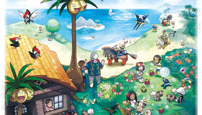 Pokémon Sun & Moon – Alola Region (August 1 Update)