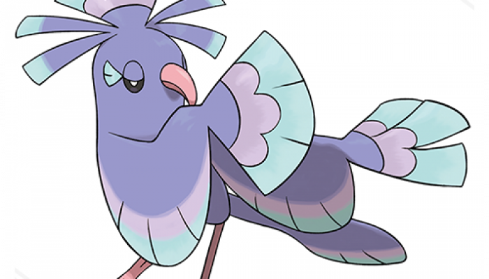 Pokémon Sun & Moon – Oricorio (Sensu Style)