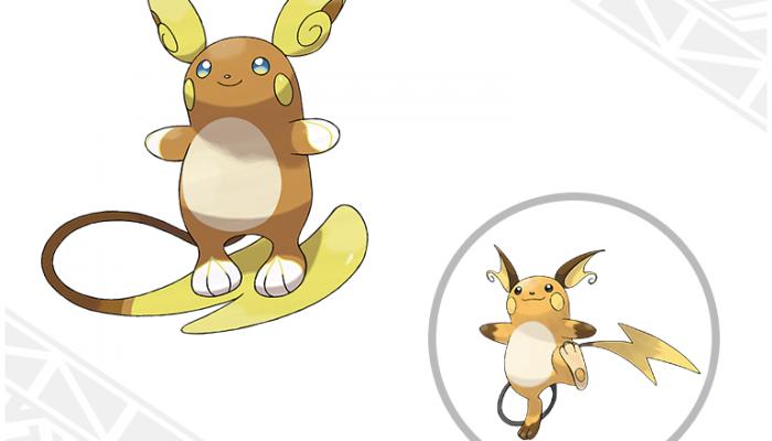 Pokémon Sun & Moon – Alolan Raichu