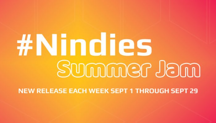 NoA: 'Nindies Summer Jam: New release each week Sept 1 through Sept 29'