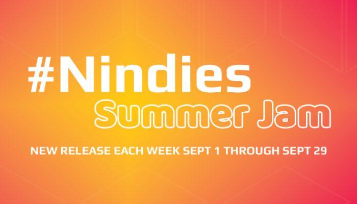 NoA: 'Nindies Summer Jam: New release each week Sept 1 through Sept 29'