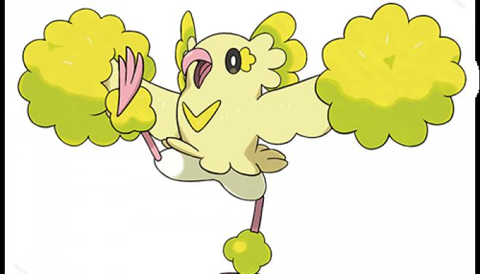 Pokémon Sun & Moon – Oricorio (Pom-Pom Style)