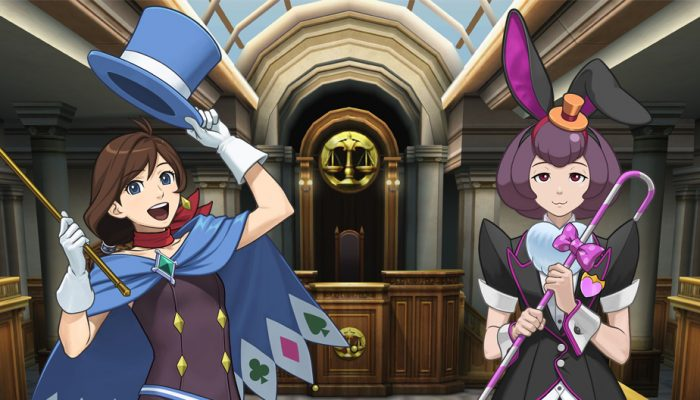 Capcom: 'Ace Attorney Character Profiles: Trucy Wright and Bonny de Famme'