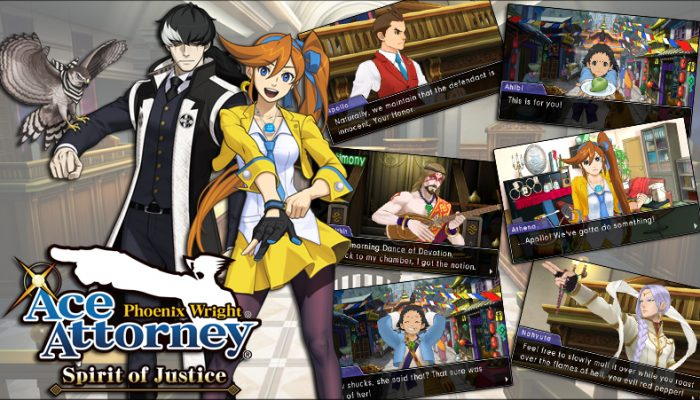 Capcom: 'Ace Attorney: Spirit of Scripting – Programming and Logo Creation'
