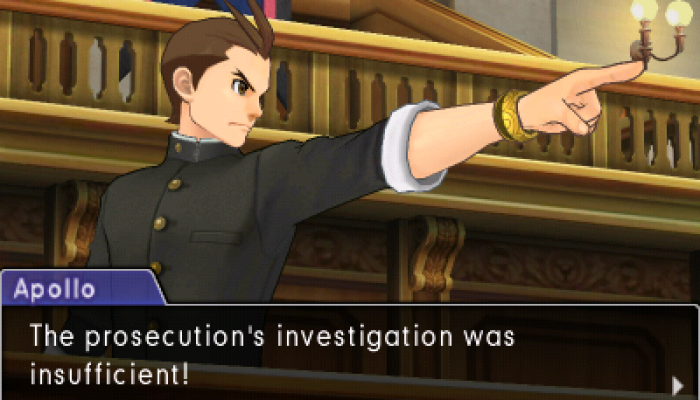 Capcom: 'Phoenix Wright: Ace Attorney – Spirit of Justice is out now! Court is back in session!'