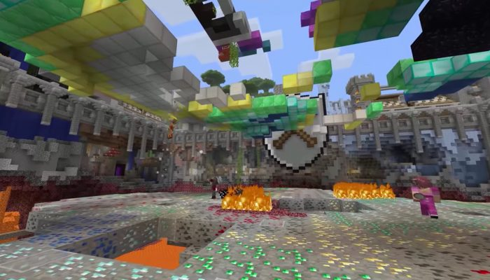 Minecraft: Wii U Edition – Tumble Mini Game Trailer