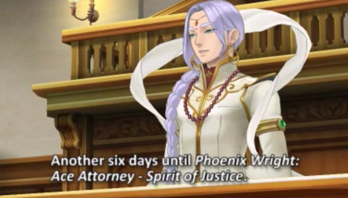 Phoenix Wright: Ace Attorney Spirit of Justice – Countdowns