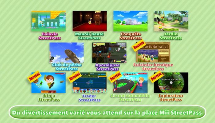 Place Mii StreetPass – Bande-annonce De nouveau jeux et bien davantage !