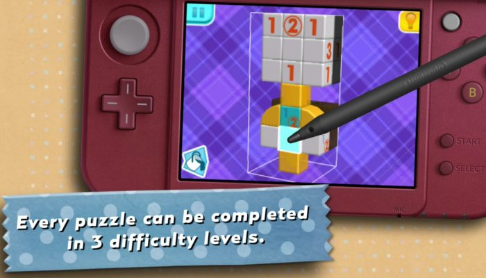 Picross 3D: Round 2 – Launch Trailer