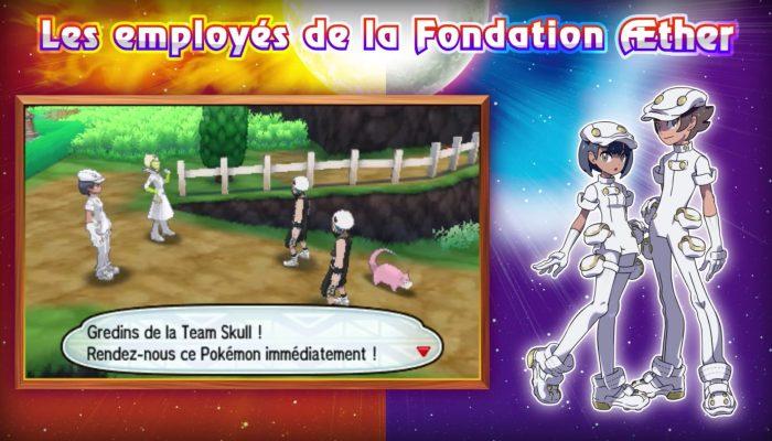 Nintendo France : 'De nouveaux Pokémon de Pokémon Soleil et Pokémon Lune ont été révélés !'