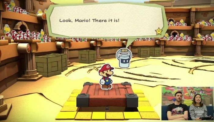Nintendo Minute – Paper Mario: Color Splash Let's Color!