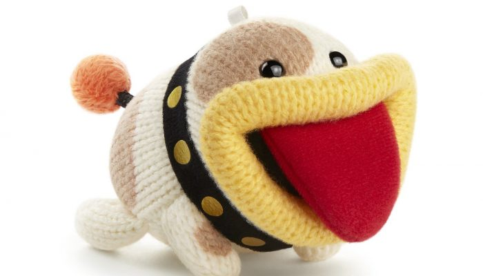 Poochy gets a yarn amiibo for Poochy & Yoshi's Woolly World