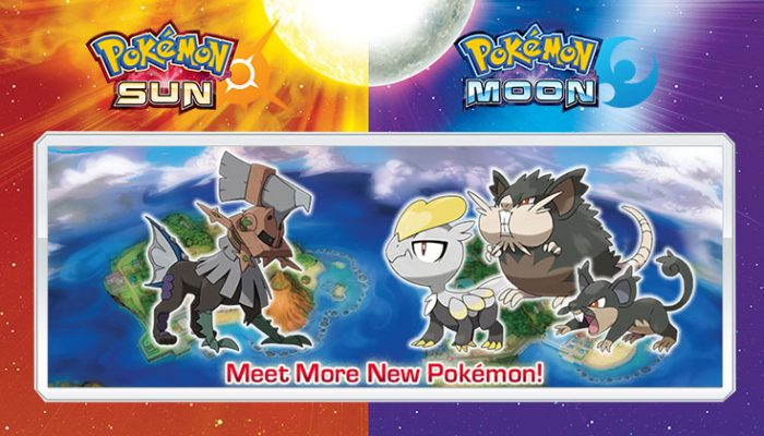 NoA: 'Exciting new details revealed for Pokémon Sun and Pokémon Moon'