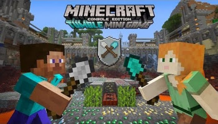 Mojang: 'Let's Get Ready To Tumble! Console Mini Game Out Now!'