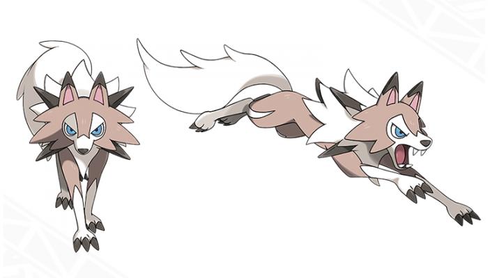 Pokémon Sun & Moon – Lycanroc (Midday Form)