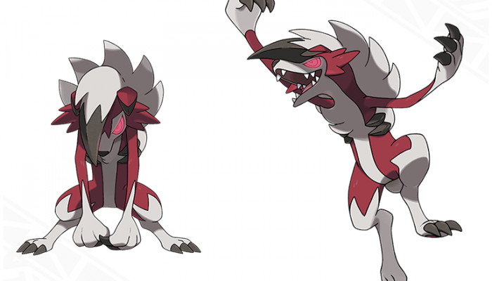 Pokémon Sun & Moon – Lycanroc (Midnight Form)