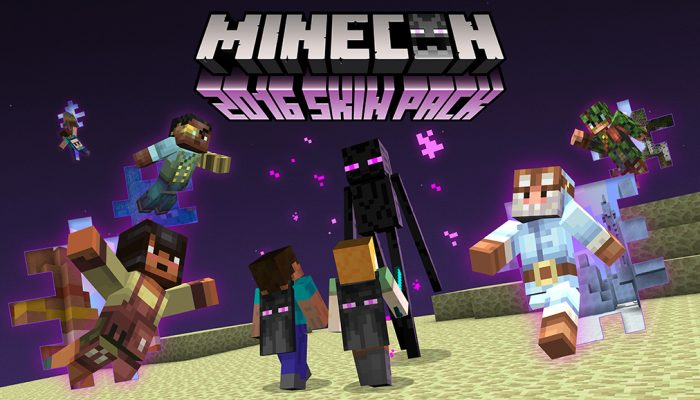 Mojang: 'Minecon 2016 Skins Incoming! Get 'Em While They're Hot!'