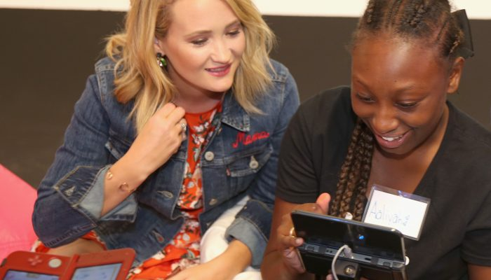 Pictures from Nintendo and Girls Inc.'s Style Savvy Fashion Forward Workshop at Big Door Studios