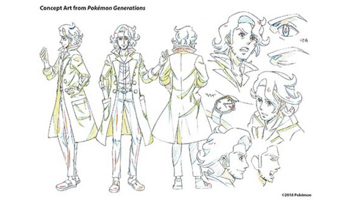 Pokémon Generations – Concept Art