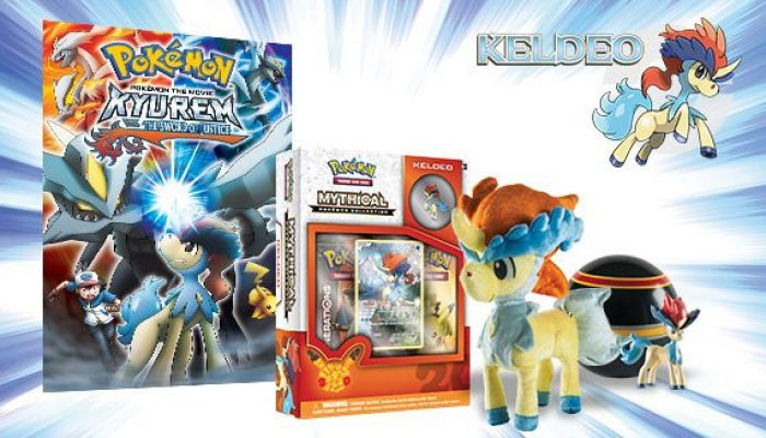 Pokémon: 'Kick It with the Colt Pokémon Keldeo!'