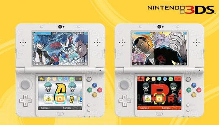 Pokémon: 'Team Up with New Nintendo 3DS Themes'