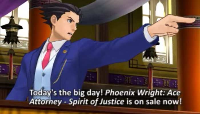 Phoenix Wright: Ace Attorney Spirit of Justice – Out Now!
