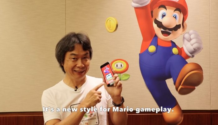 Mr. Miyamoto introduces Super Mario Run!