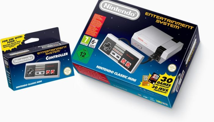 NoE: 'Play games from yesteryear like never before with the Nintendo Classic Mini: Nintendo Entertainment System'