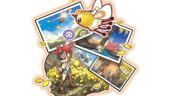 Pokémon Sun & Moon – Find Pokémon all over the place with the Poké Finder feature.