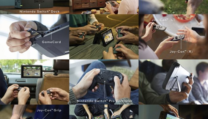 Nintendo Switch – Official Pictures