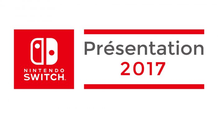 Nintendo France : 'Présentation 2017 de la Nintendo Switch le 13 janvier 2017'