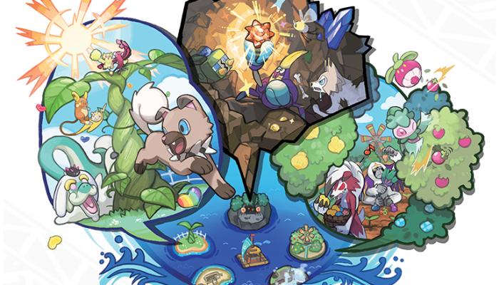 Pokémon Sun & Moon – Island-Hop at the Poké Pelago