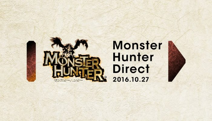 Japanese Monster Hunter Direct announced for October 27 at 8 PM Japanese time