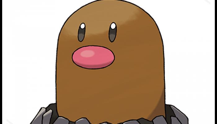 Pokémon Sun & Moon – Alolan Diglett