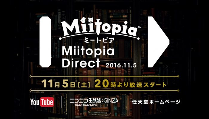 Miitopia – Japanese November 5 Direct Announcement Video
