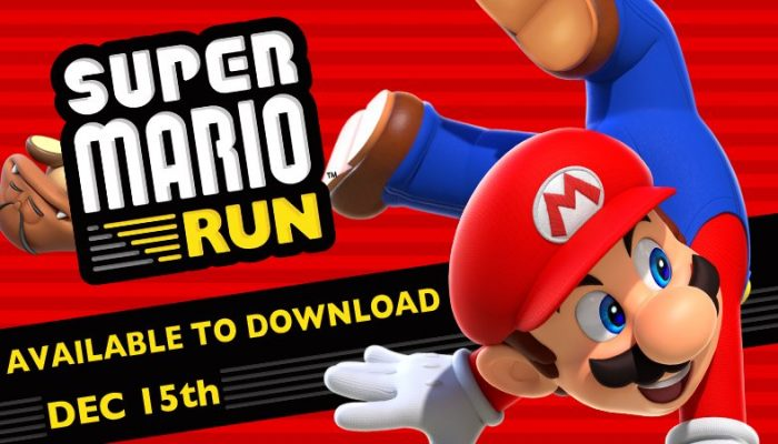 NCL: 'Super Mario Run launches for iPhone & iPad on Dec. 15'