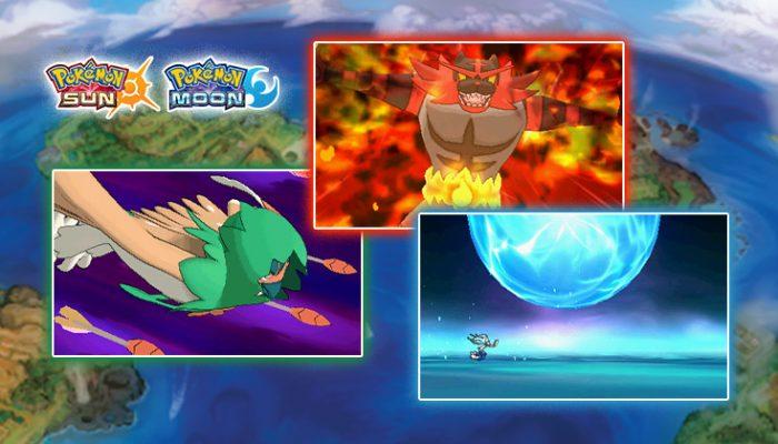 NoA: 'New Z-Move details and new Pokémon announced for Pokémon Sun and Pokémon Moon'