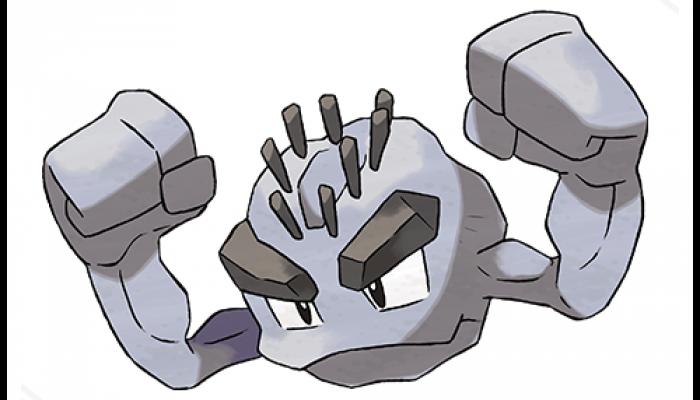 Pokémon Sun & Moon – Alolan Geodude